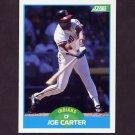 1989 Score Baseball #213 Joe Carter - Cleveland Indians