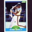 1989 Score Baseball #195 Bobby Bonilla - Pittsburgh Pirates