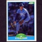 1989 Score Baseball #183 Steve Farr - Kansas City Royals