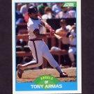 1989 Score Baseball #182 Tony Armas - California Angels