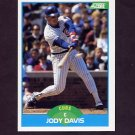 1989 Score Baseball #173 Jody Davis - Chicago Cubs