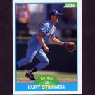 1989 Score Baseball #162 Kurt Stillwell - Kansas City Royals