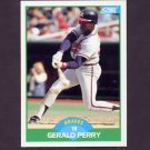 1989 Score Baseball #101 Gerald Perry - Atlanta Braves