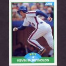 1989 Score Baseball #093 Kevin McReynolds - New York Mets