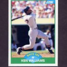 1989 Score Baseball #067 Ken Williams - Chicago White Sox