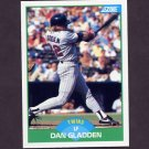 1989 Score Baseball #062 Dan Gladden - Minnesota Twins