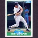 1989 Score Baseball #042 Keith Moreland - San Diego Padres