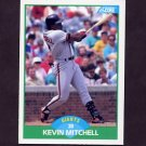 1989 Score Baseball #039 Kevin Mitchell - San Francisco Giants