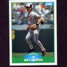 1989 Score Baseball #018 Bill Ripken - Baltimore Orioles NM-M