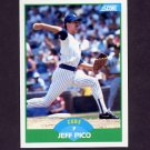 1989 Score Baseball #013 Jeff Pico - Chicago Cubs