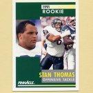 1991 Pinnacle Football #324 Stan Thomas - Chicago Bears