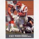 1991 Ultra Football #023 Ickey Woods - Cincinnati Bengals
