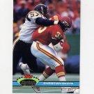 1991 Stadium Club Football #072 Christian Okoye - Kansas City Chiefs