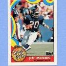 1989 Topps Football 1000 Yard Club #17 Joe Morris - New York Giants