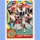 1989 Topps Football 1000 Yard Club #06 Eddie Brown - Cincinnati Bengals