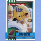 1990 Topps Football #364 Marc Spindler RC - Detroit Lions