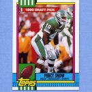 1990 Topps Football #246 Percy Snow RC - Kansas City Chiefs