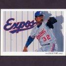 1993 Upper Deck Baseball #821 Montreal Expos Team Checklist / Dennis Martinez