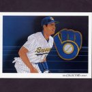 1993 Upper Deck Baseball #817 Milwaukee Brewers Team Checklist / Pat Listach