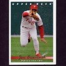 1993 Upper Deck Baseball #800 Jim Eisenreich - Philadelphia Phillies