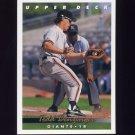 1993 Upper Deck Baseball #790 Todd Benzinger - San Francisco Giants
