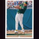 1993 Upper Deck Baseball #767 Troy Neel - Oakland A's