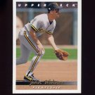 1993 Upper Deck Baseball #759 John Wehner - Pittsburgh Pirates