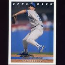 1993 Upper Deck Baseball #749 Todd Burns - Texas Rangers