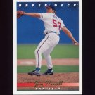 1993 Upper Deck Baseball #731 Jay Howell - Atlanta Braves