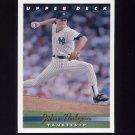 1993 Upper Deck Baseball #719 John Habyan - New York Yankees