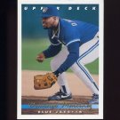 1993 Upper Deck Baseball #651 Domingo Martinez RC - Toronto Blue Jays