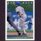 1993 Upper Deck Baseball #637 Manuel Lee - Texas Rangers