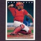 1993 Upper Deck Baseball #621 Hector Villanueva - St. Louis Cardinals