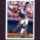 1993 Upper Deck Baseball #611 Francisco Cabrera - Atlanta Braves
