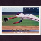 1993 Upper Deck Baseball #520 Carlos Martinez - Cleveland Indians