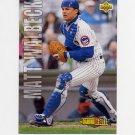 1993 Upper Deck Baseball #509 Matt Walbeck RC - Chicago Cubs