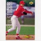 1993 Upper Deck Baseball #508 Kevin Stocker - Philadelphia Phillies