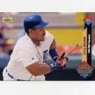 1993 Upper Deck Baseball #499 Cecil Fielder AW - Detroit Tigers