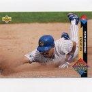 1993 Upper Deck Baseball #491 Pat Listach AW - Milwaukee Brewers