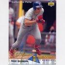 1993 Upper Deck Baseball #466 Geronimo Pena IN - St. Louis Cardinals