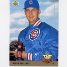 1993 Upper Deck Baseball #429 Derek Wallace RC - Chicago Cubs