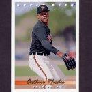 1993 Upper Deck Baseball #384 Arthur Rhodes - Baltimore Orioles