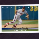 1993 Upper Deck Baseball #377 Damion Easley - California Angels