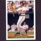 1993 Upper Deck Baseball #353 Glenn Davis - Baltimore Orioles