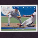 1993 Upper Deck Baseball #302 Keith Miller - Kansas City Royals