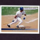 1993 Upper Deck Baseball #291 Mel Hall - New York Yankees