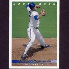 1993 Upper Deck Baseball #180 Mike Magnante - Kansas City Royals