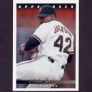 1993 Upper Deck Baseball #170 Mike Jackson - San Francisco Giants