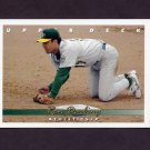 1993 Upper Deck Baseball #168 Ron Darling - Oakland A's
