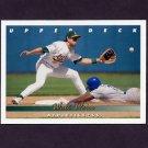 1993 Upper Deck Baseball #122 Walt Weiss - Oakland A's